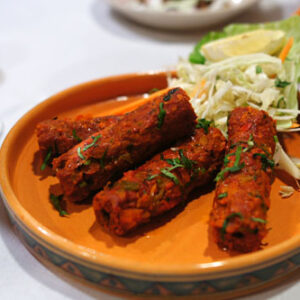 Lamb Seekh Kabab (For 4)