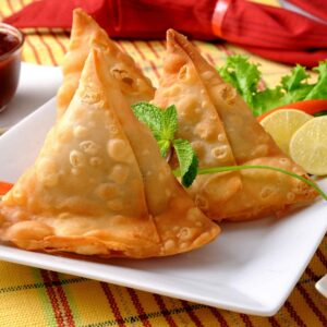 Vegetable Samosa (For 2)