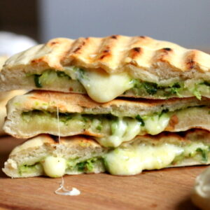 Cheese & Spinach Naan